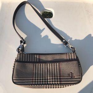 Vintage Lauren Ralph Lauren houndstooth purse